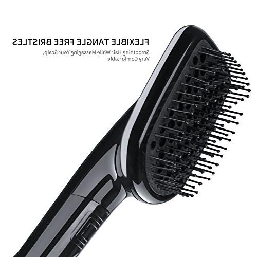 One-Step Hair Straightener, Hot Paddle - Ergonomic Design