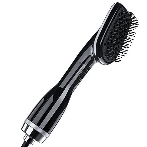 one step hair dryer straightener yafex negative ion hot air