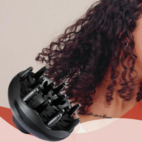 Black LARGE Diffuser Curly Natural To