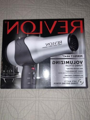 perfect heat volumizing turbo hair dryer styler