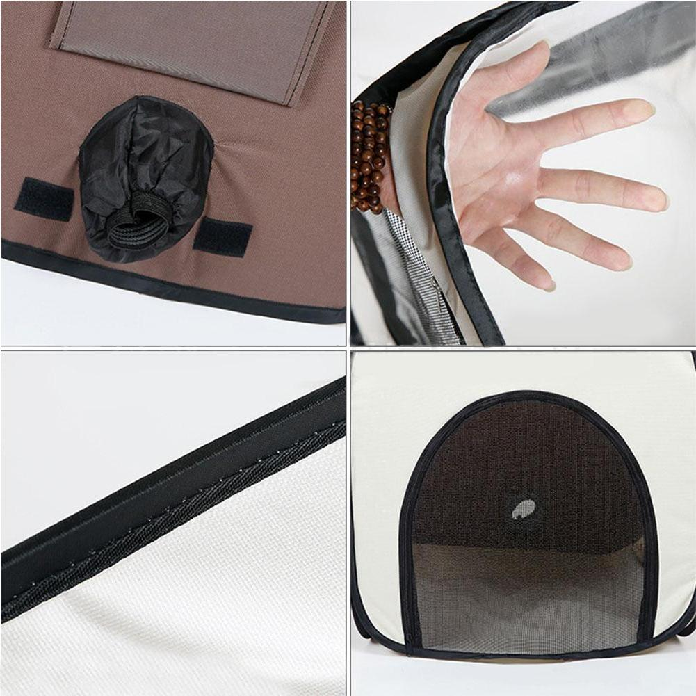 Portable Pet Box Stress Cat Comfortable Hair <font><b>Dryer</b></font> Box Bathing Drying Room Tent And Outdoor