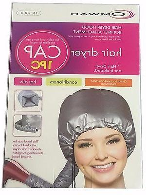 Portable Hair Cap Blow Pouch
