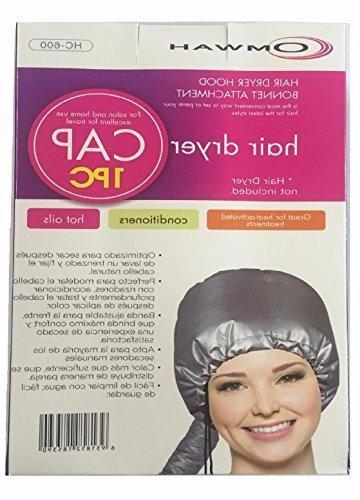 portable soft hair drying cap