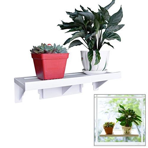 powerful window sill shelf veg