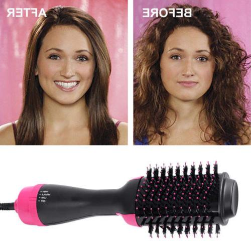 pro one step volumizer and hair dryer