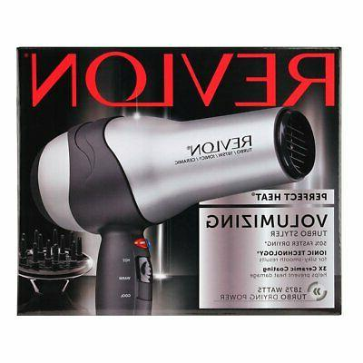 REVLON 1875W Tourmaline Ionic TURBO Hair Blow Dryer