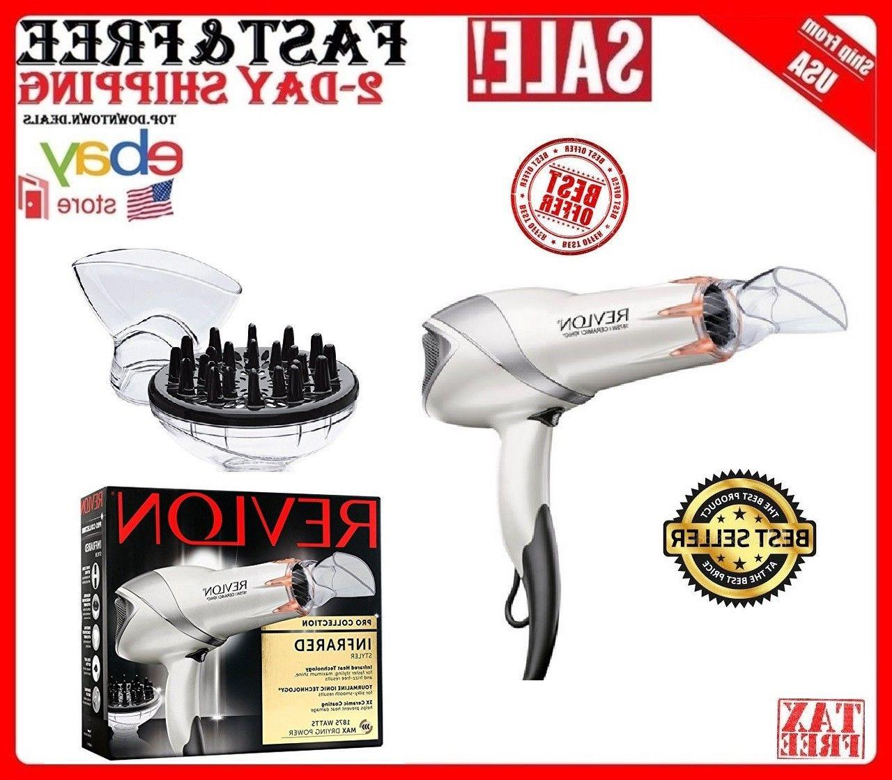 hair blow dryer with diffuser pro styler