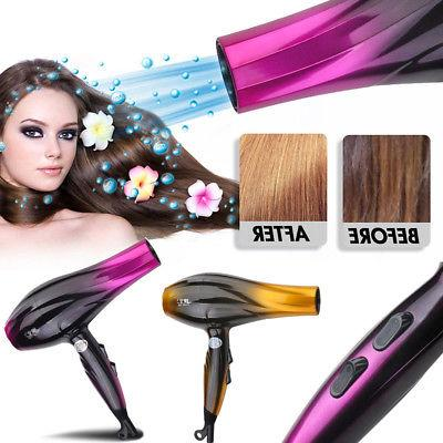 professional 2800w hair blow dryer powerful heat