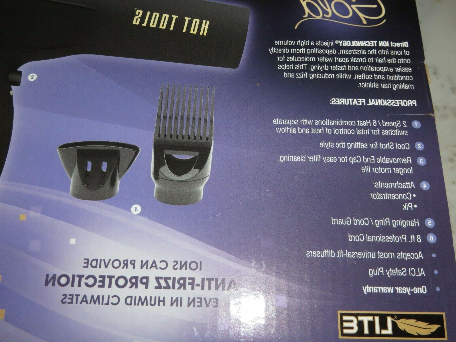 Hot Professional Salon Hair Dryer W Blow