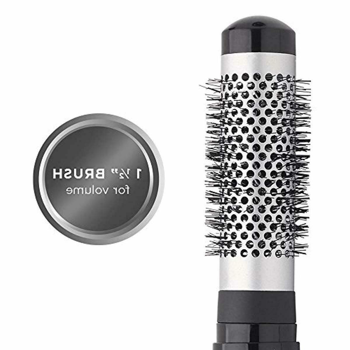 "Revlon Ceramic Hot Air Brush with 1-1/2"" Brush"