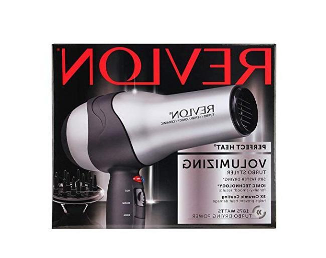 Revlon 1875W Hair Dryer Diffuser Pro 2 Speed