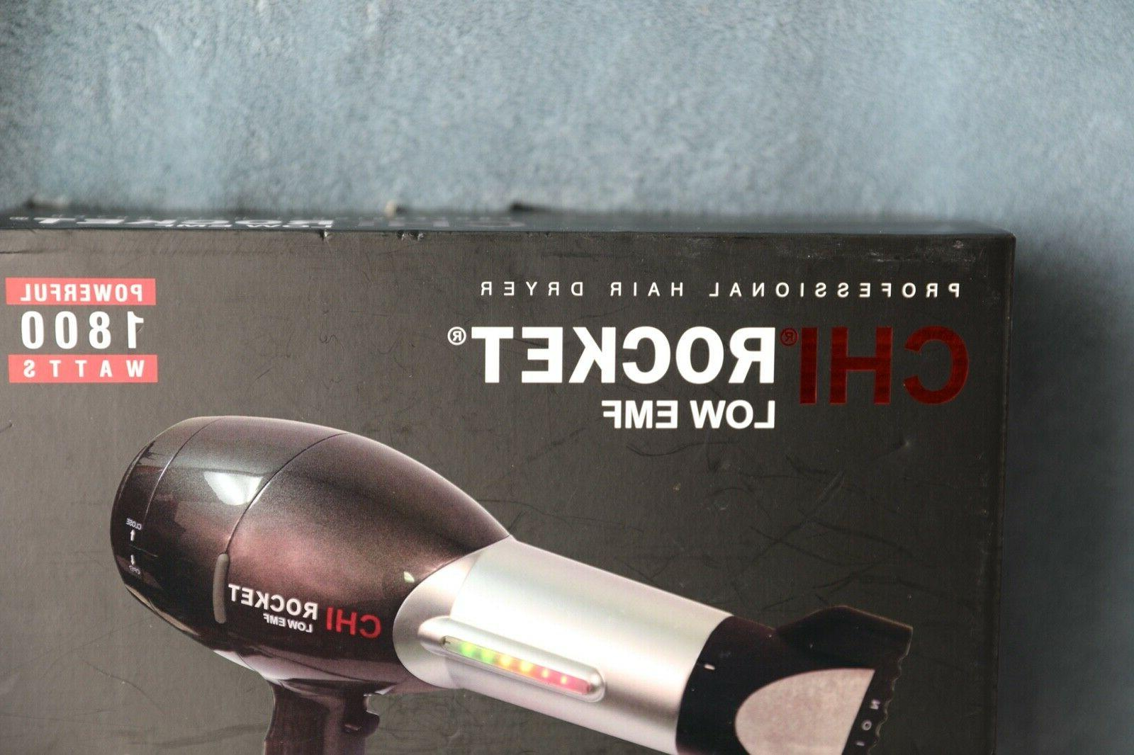 CHI Rocket Professional Dryer 1800 Watts Infrared Ionic