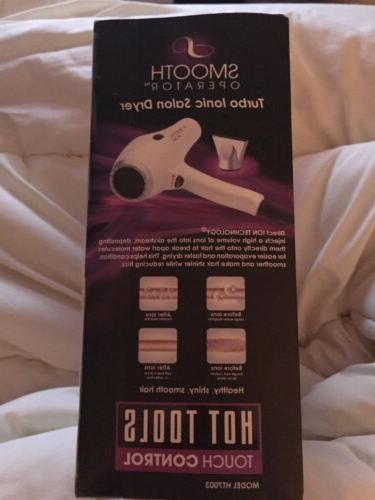 HOT TOOLS Turbo Ionic Hair Dryer Unisex