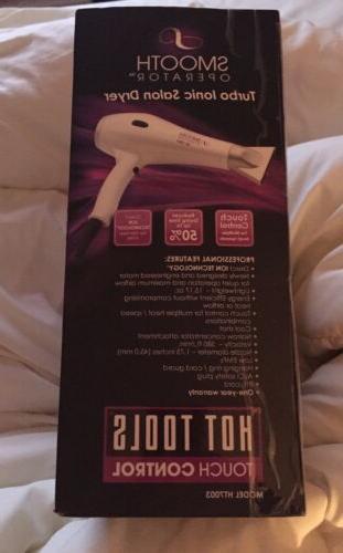 HOT Turbo Ionic Hair Dryer HT7003 Unisex
