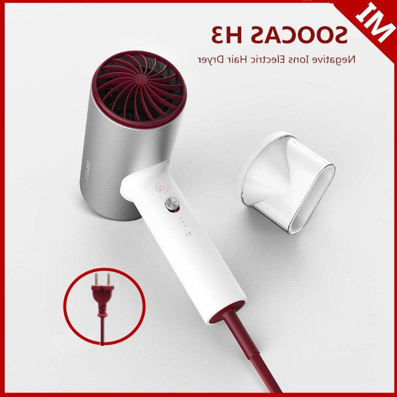 soocas h3 eu plug negative ion hair