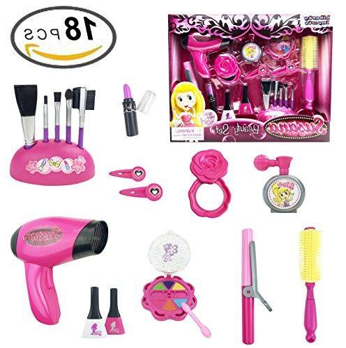stylish pink beauty hair salon