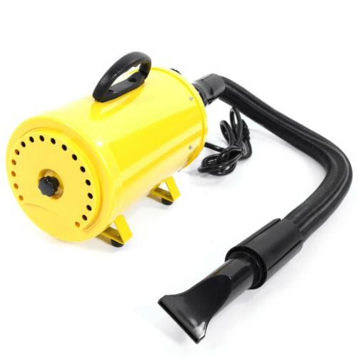 New 2800W Dryer Dog Pet Groomming US Yellow