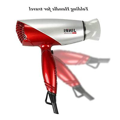 JINRI 1875 Blow Dryer Dc Foldable