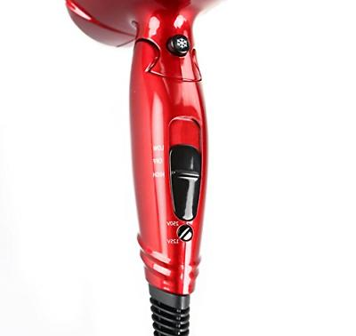 JINRI Hair 1875 Watt Dual Blow Dryer Dc