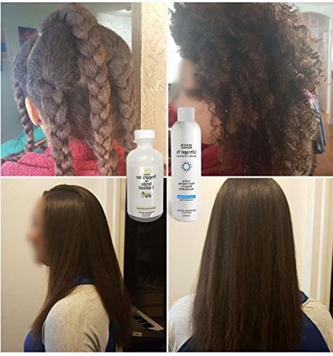 UltraGel 120ml with All Hair Types Coarse Brazilian Straighten Repair