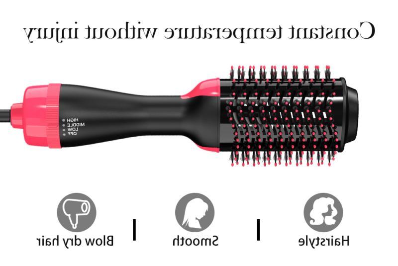 US Hair Blow Dryer Curler Comb