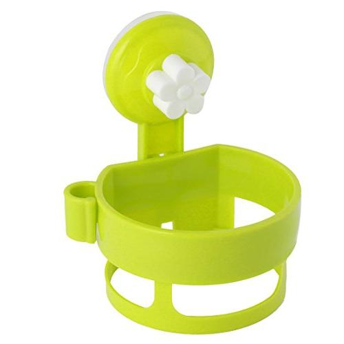 uxcell Plastic Round Home Suction Cup Hair Blow Dryer Holder