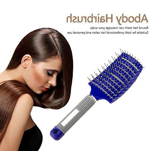 Women Vented Brush, Hair Brush Curly Hair Detangling Brushes, Straight Comb, Detangler Fast Brush Styling Long
