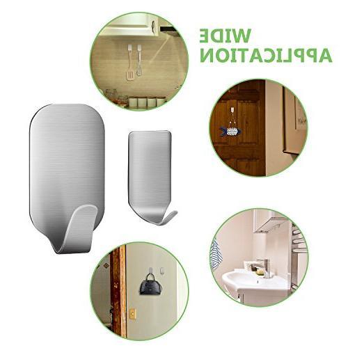 16 PCS Hangers Heavy Duty Steel Waterproof Bathroom and Cabinets
