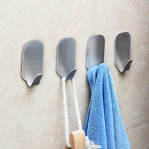 16 Hangers Heavy Duty Wall Steel Waterproof Bathroom and Cabinets