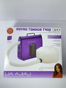 Laila Ali LADR5604 Ionic Soft Bonnet Dryer, Purple with Whit