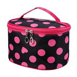 LiPing Spot Series Portable Travel Cosmetic Bag Makeup Handb