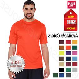 Team 365 Mens Dri-Fit Performance Gym Workout  UV Protection