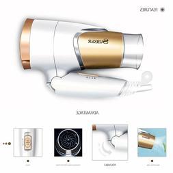 Mini Folding Handle Electric Negative Ionic Blow Hair Dryer