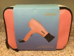 amika Mini Ionic Hair Blow Dryer 1200 Watts Coral Pink FUN N