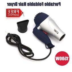 Mini Portable Foldable Handle 1500W Hair Dryer Blow Dryer Ho