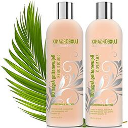 Sulfate Free Shampoo And Conditioner; Safe For Color Treated