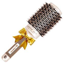 Nano Thermal Round Barrel Hair Brush For Women By LaMazzo -P