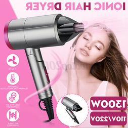 Negative Ionic Folding Hair Dryer Blow Dryer Professional Ge