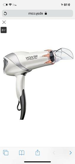 NEW Revlon 1875W Infrared Hair Dryer for Faster Drying & Max
