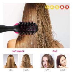NEW 2 in 1 Pro One Step Hair Blow Dryer And Volumizer Curler