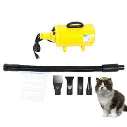 New 2800W Blow Hair Dryer Dog Hairdryer Cat Pet Groomming US
