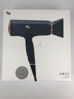 New T3 'Cura' Grey/ Rose Gold Hair Blow Dryer ~