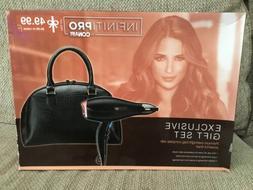 NEW Infinity Pro Conair Hair Blow Dryer Gift Set w/overnight
