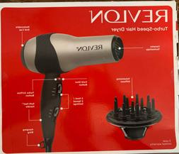New Revlon Ionic Hair Dryer Professional Turbo Blow 2 Speed
