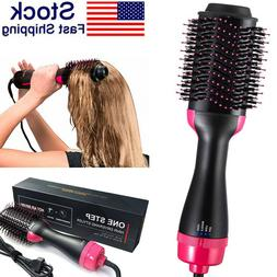 3In1 One Step Hot Air Hair Dryer Negative Ion Styling Blower