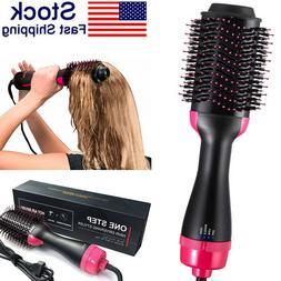 One-step Hair Dryer Hot Air Brush & Volumizer 3 in 1 Brush B