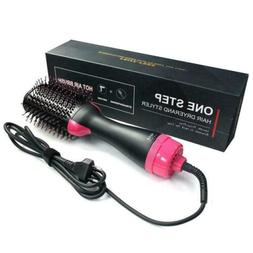 One-Step Hot Air Brush 2-in-1 Hair Blow Dryer Volumizer Stra