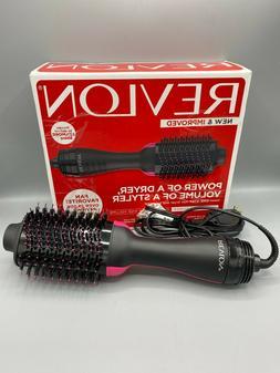 OPEN BOX TESTED Revlon One-Step Hair Dryer & Volumizer Hot A