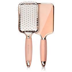 Navaris Paddle Brush Large Detangling Styling Hairbrush for