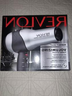 Revlon Perfect Heat Volumizing Turbo Hair Dryer Styler Blow